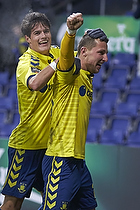 Kamil Wilczek, m�lscorer (Br�ndby IF), Christian N�rgaard (Br�ndby IF)