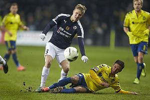 Jesper B�ge (Hobro IK), David Boysen (Br�ndby IF)