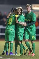 Magnus Eriksson, m�lscorer (Br�ndby IF), Teemu Pukki (Br�ndby IF), Christian Greko Jakobsen (Br�ndby IF)