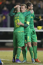 Magnus Eriksson (Br�ndby IF), Thomas Kahlenberg, anf�rer (Br�ndby IF)