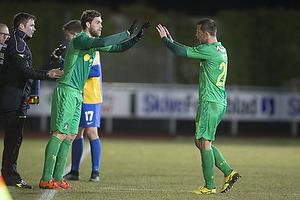 Johan Elmander (Br�ndby IF), Kamil Wilczek (Br�ndby IF)
