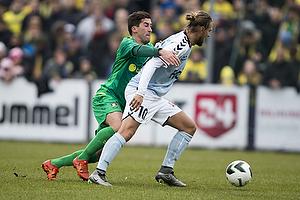 Frederik Holst (Br�ndby IF), Nicolaj Madsen (S�nderjyskE)