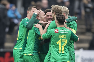 Magnus Eriksson, m�lscorer (Br�ndby IF), Frederik Holst (Br�ndby IF), Riza Durmisi (Br�ndby IF)