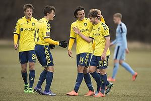 Andrew Hjulsager, m�lscorer (Br�ndby IF), Daniel St�ckler (Br�ndby IF)