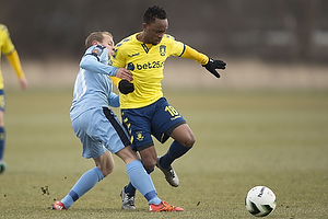 Joel Allansson (Randers FC), Lebogang Phiri (Br�ndby IF)
