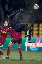 Andreas Maxs� (FC Nordsj�lland), Paul Onuachu (FC Midtjylland)