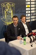 Jan Bech Andersen, bestyrelsesformand (Br�ndby IF), Troels Bech, sportsdirekt�r (Br�ndby IF)