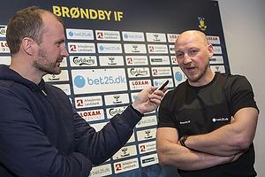 Auri Skarbalius, cheftr�ner, anf�rer (Br�ndby IF)