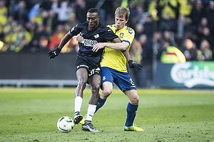 Jesper Lindorff Juelsg�rd (Br�ndby IF), Moussa Maazou (Randers FC)