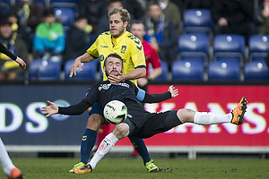 Teemu Pukki (Br�ndby IF), Mads Fenger, anf�rer (Randers FC)