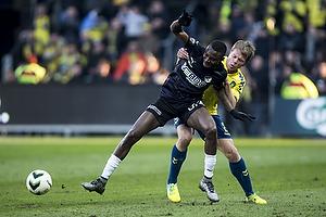 Moussa Maazou (Randers FC), Jesper Lindorff Juelsg�rd (Br�ndby IF)