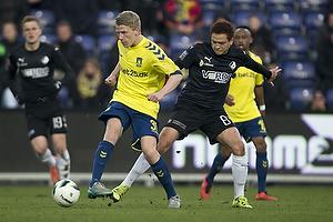 Nicklas Halse (Br�ndby IF), Mustafa Amini (Randers FC)