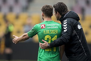 Andrew Hjulsager (Br�ndby IF), Mark Strudal, angrebstr�ner (Br�ndby IF)