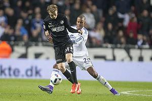 Kasper Junker (Randers FC), Mathias Zanka J�rgensen (FC K�benhavn)