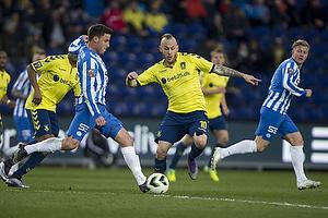 Uidentificeret person (Esbjerg fB), Magnus Eriksson (Br�ndby IF)