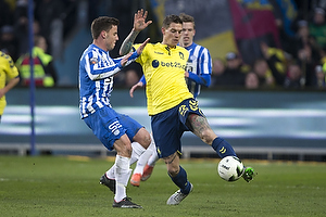 Uidentificeret person (Esbjerg fB), Daniel Agger, anf�rer (Br�ndby IF)