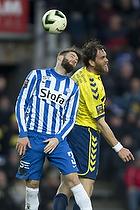 Daniel Stenderup (Esbjerg fB), Johan Elmander (Br�ndby IF)