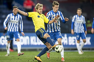 Teemu Pukki (Br�ndby IF), Nikolaj Hagelskj�r (Esbjerg fB)