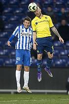 Magnus Eriksson (Br�ndby IF), Jesper Lauridsen (Esbjerg fB)