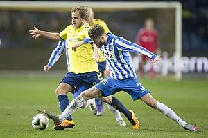 Teemu Pukki (Br�ndby IF), Daniel Stenderup (Esbjerg fB)