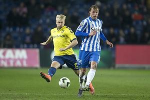 Johan Larsson (Br�ndby IF), Bj�rn Paulsen (Esbjerg fB)