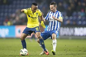 Lebogang Phiri (Br�ndby IF), Magnus Lekven, anf�rer (Esbjerg fB)