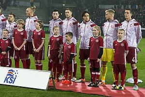 Daniel Agger (Danmark), Kasper Schmeichel (Danmark), Thomas Delaney (Danmark), Henrik Dalsgaard (Danmark), Pierre Emilie H�jbjerg (Danmark)