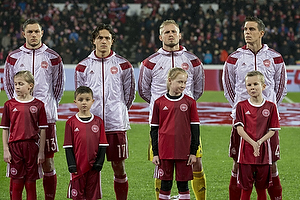 Henrik Dalsgaard (Danmark), Thomas Delaney (Danmark), Kasper Schmeichel (Danmark), Daniel Agger (Danmark)