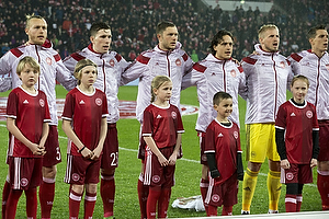 Nicolai Boilesen (Danmark), Pierre Emilie H�jbjerg (Danmark), Henrik Dalsgaard (Danmark), Thomas Delaney (Danmark), Kasper Schmeichel (Danmark)