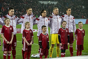Pierre Emilie H�jbjerg (Danmark), Henrik Dalsgaard (Danmark), Thomas Delaney (Danmark), Kasper Schmeichel (Danmark), Daniel Agger (Danmark)