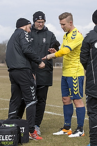 Martin Albrechtsen (Br�ndby IF), Claus N�rgaard (Br�ndby IF)
