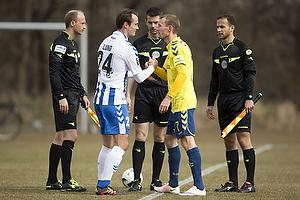 Thomas Kahlenberg, anf�rer (Br�ndby IF), Oliver Lund (Ob)