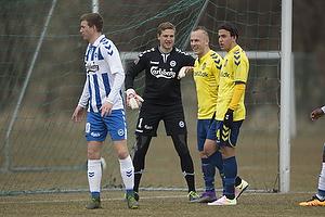 Magnus Eriksson (Br�ndby IF), Daniel St�ckler (Br�ndby IF), Michael T�rnes (Ob)
