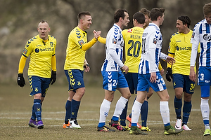 Martin Albrechtsen (Br�ndby IF), Magnus Eriksson (Br�ndby IF)
