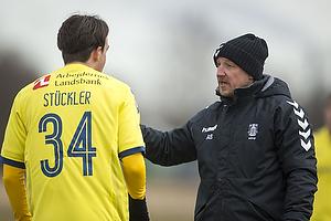 Daniel St�ckler (Br�ndby IF), Aurelijus Skarbalius, cheftr�ner (Br�ndby IF)