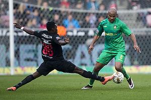 Rodolph William Austin (Br�ndby IF), Rilwan Hassan (FC Midtjylland)