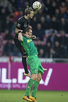 Uidentificeret person (FC Midtjylland), Johan Elmander (Br�ndby IF)