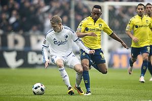 Kasper Kusk (FC K�benhavn), Lebogang Phiri (Br�ndby IF)