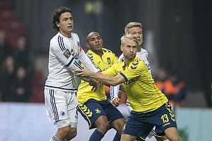Johan Larsson (Br�ndby IF), Thomas Delaney (FC K�benhavn)