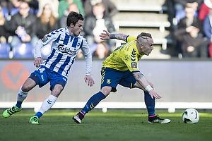 Magnus Eriksson (Br�ndby IF), Jens Jakob Thomasen (Ob)