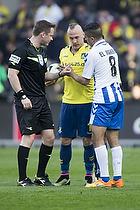 Jens Maae, dommer, Magnus Eriksson (Br�ndby IF)