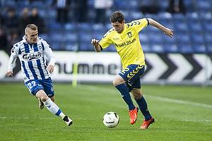 Frederik Holst (Br�ndby IF), Ari Skulason (Ob)
