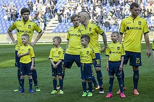 Martin �rnskov (Br�ndby IF), Teemu Pukki (Br�ndby IF), Magnus Eriksson (Br�ndby IF), Christian Jakobsen (Br�ndby IF)