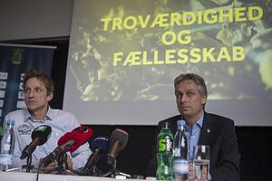 Troels Bech, sportsdirekt�r (Br�ndby IF), Jesper J�rgensen, administrerende direkt�r (Br�ndby IF)