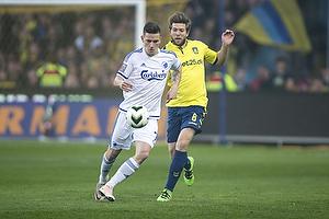 Martin �rnskov (Br�ndby IF), Benjamin Verbic (FC K�benhavn)