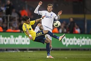 David Boysen (Br�ndby IF), Mikael Antonsson (FC K�benhavn)