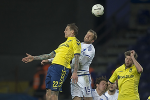 Daniel Agger (Br�ndby IF), Mikael Antonsson (FC K�benhavn)