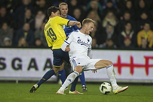 Christian N�rgaard (Br�ndby IF), Nicolai J�rgensen (FC K�benhavn)