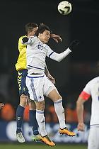 Daniel Agger (Br�ndby IF), Federico Santander (FC K�benhavn)