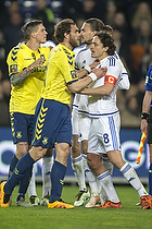 Johan Elmander (Br�ndby IF), Thomas Delaney, anf�rer (FC K�benhavn), Erik Johansson (FC K�benhavn), Daniel Agger (Br�ndby IF)